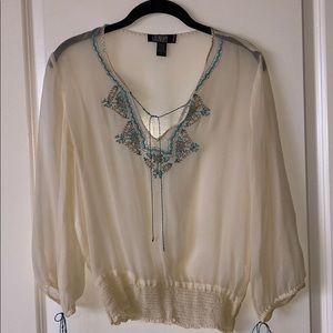 Laundry by Shelli Segal Silk Top
